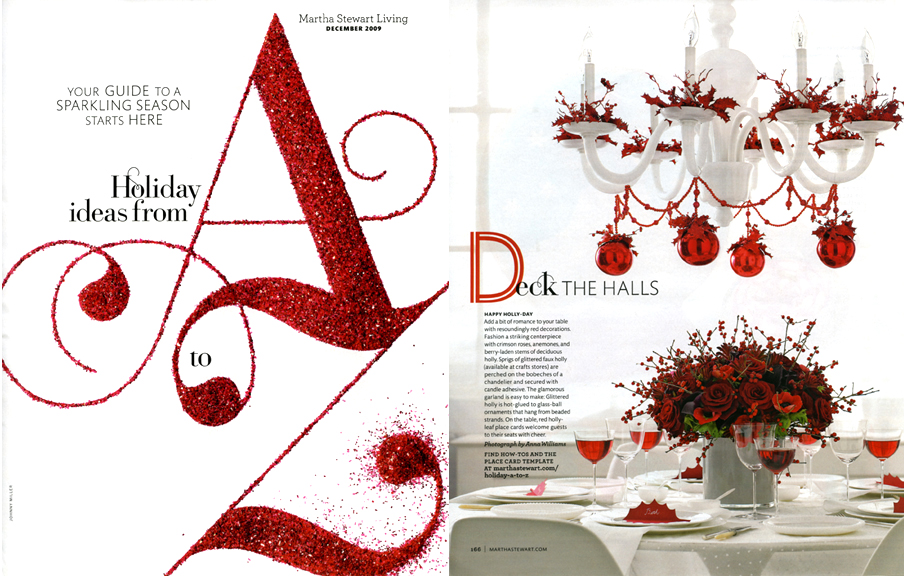 Holiday Ideas from A-Z Spread 1